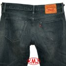 LEVI'S SELVEDGE MATCHSTICK SLIM SKINNY KEEPSAKE FADED BLUE DENIM JEANS W32 L34 (Actual size 33 34)