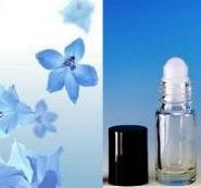 1 Dram Glass Roll-on Bottle Uncut 100% Fragrance Oil - Silver for Men