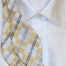 Bow Tie Yellow Plaid Freestyle Silk - Free Worldwide Ship!