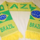 BRAZIL TEAM/CLUB SCARF SOCCER- WE SHIP USPS