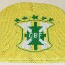 BRAZIL BEANIE/SKULL CAP SOCCER BRONX CAP WE SHIP USPS
