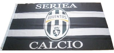 JUVENTUS FLAG SOCCER- WE SHIP USPS