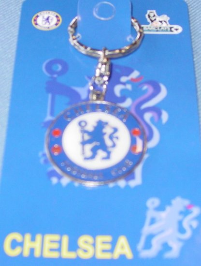 CHELSEA FC KEYCHAIN SOCCER KEYRING- WE SHIP USPS #ARMDP