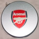 ARSENAL FC CD/DVD CASE SOCCER- WE SHIP USPS