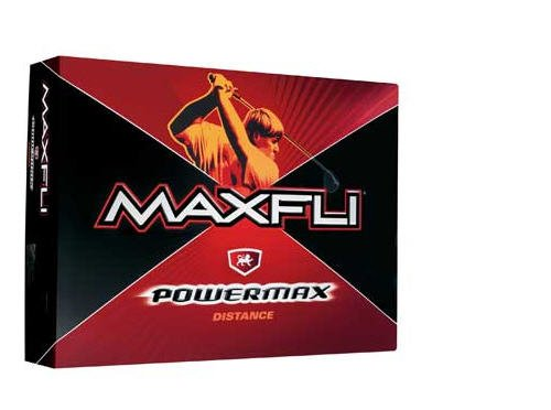 3-PACK NEW MAXFLI GOLF POWER MAX DIST DOZENS JOHN DALY