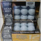 48 TITLEIST NEAR MINT USED/REFINISHED PRO V1 GOLF BALLS