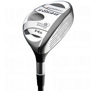 NEW ADAMS GOLF LH INSIGHT BTY 14.5° FAIRWAY WOOD STIFF