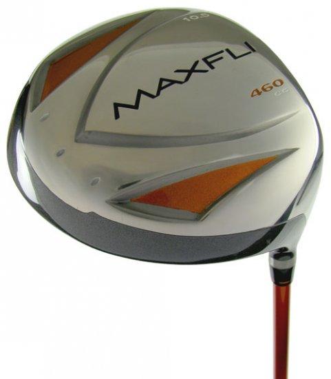 NEW MAXFLI GOLF POWERMAX 460 TITANIUM 10.5° DRIVER STF