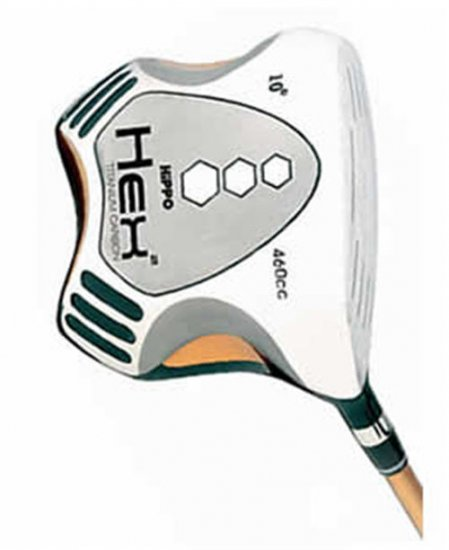 HiPPO GOLF- HEX 2 SQUARE DRIVER 10° SENIOR