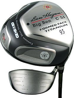 NEW HOGAN GOLF LH BIG BEN C-S3 10.5° DRAW DRIVER SENIOR
