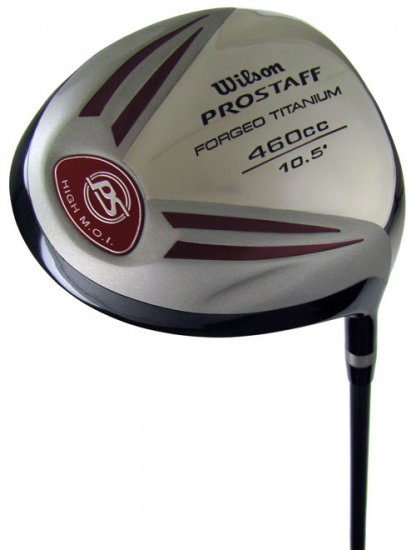 NEW WILSON GOLF PROSTAFF FAT SHAFT 10.5° DRIVER REG GR