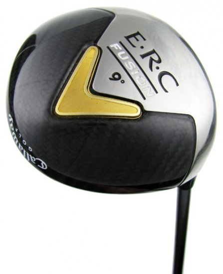 NEW CALLAWAY GOLF BIG BERTHA ERC FUSION 9° DRIVER NV-65