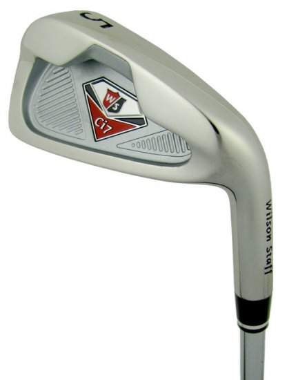 NEW WILSON STAFF Ci7 CONTROL IRONS 4-GW STEEL REGULAR