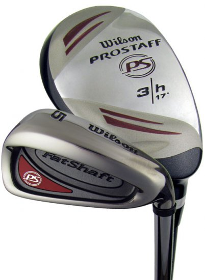 NEW WILSON P.S. FAT SHAFT 3-PW HYBRID IRONS GRAPH/STEEL