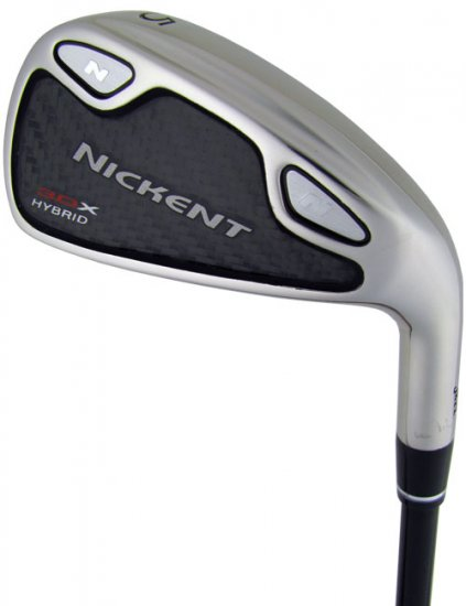 NICKENT GOLF- 3DX HYBRID IRONS W/ 3DX DC I/WOODS GR STF