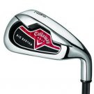 NEW CALLAWAY GOLF BIG BERTHA 4-SW IRONS UNIFLEX STEEL
