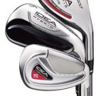 ADAMS GOLF TIGHT LIES IDEA A2 OS HYBRID IRONS STEEL REG