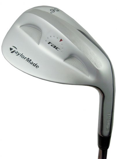 NEW TAYLOR MADE GOLF RAC CHROME 56° SAND WEDGE SW STEEL