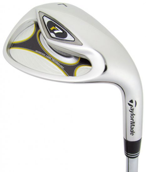 NEW TAYLOR MADE GOLF R7 60° LOB WEDGE LW STEEL STIFF