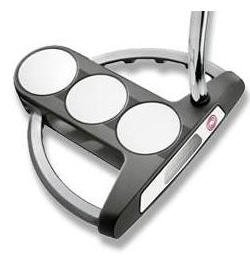 "NEW ODYSSEY GOLF WHITE STEEL SRT TRI 3-BALL 34"" PUTTER"