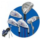 US KIDS GOLF - ULTRALITE SERIES BLUE 5 CLUB SET W/ BAG