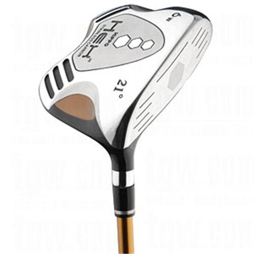 HiPPO GOLF- HEX 2 SQUARE FAIRWAY 4 WOOD STIFF FLEX