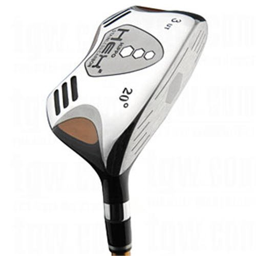 HiPPO GOLF- HEX 2 SQUARE 23° #4 HYBRID STIFF FLEX