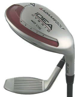NEW ADAMS GOLF IDEA A2 OS #3 HYBRID IRON WOOD SENIOR