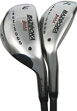 TOUR EDGE GOLF- BAZOOKA JMAX IRON/WOOD #2 GRAPHITE STF