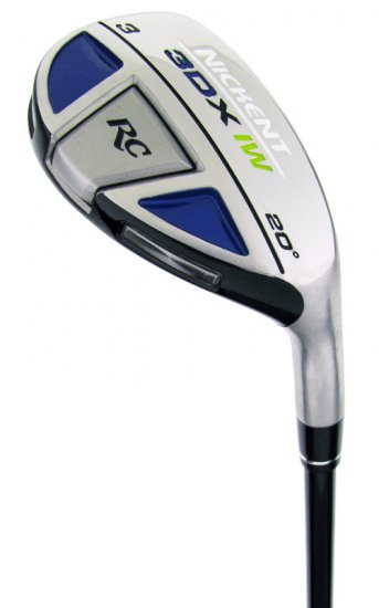 NICKENT GOLF- 3DX RC 17° #2 HYBRID IRONWOOD GRAPH STF