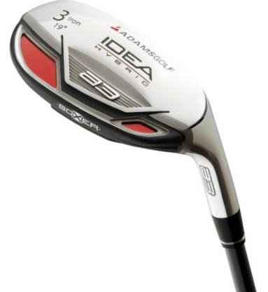 ADAMS GOLF- IDEA A3 BOXER #4 HYBRID I-WOOD GRAPH STIFF