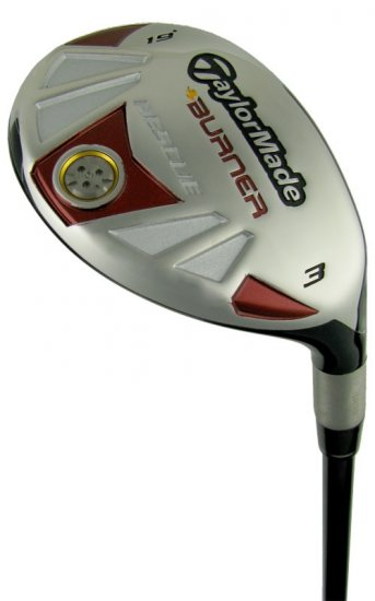 TAYLOR MADE GOLF BURNER RESCUE HYBRID IRON/WOOD #4 REG