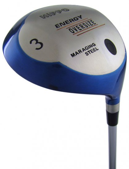 HIPPO GOLF LADIES ENERGY OVERSIZED #9 FAIRWAY WOOD GRAH