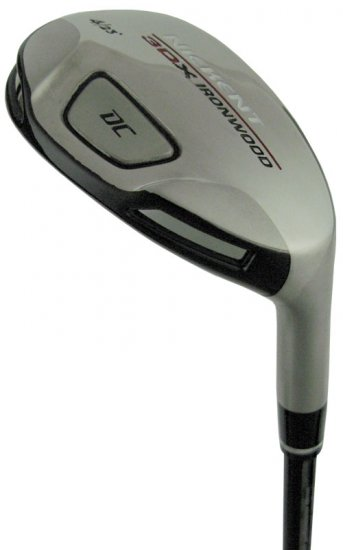 NICKENT GOLF- 3DX DC 14° #1 HYBRID IRON WOOD GRAPH STF