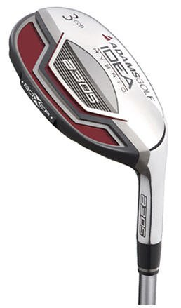 ADAMS GOLF- IDEA A3 OS BOXER #4 HYBRID I-WOOD GRAPH SNR