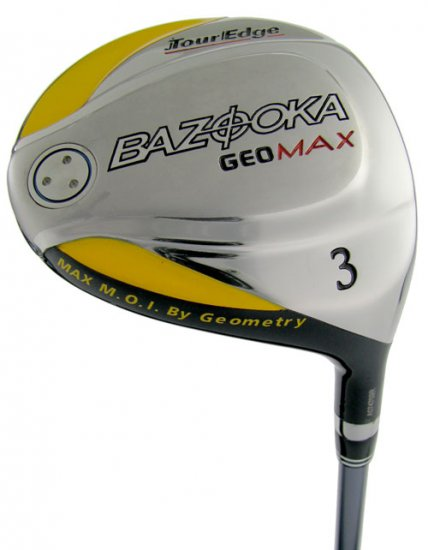TOUR EDGE GOLF BAZOOKA GEOMAX 15° #3 FAIRWAY WOOD REG