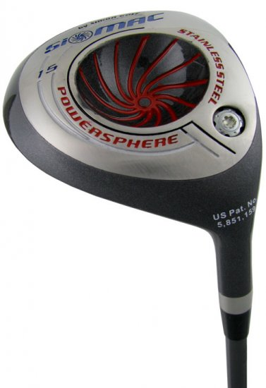 NEW BURROWS GOLF SiMAC POWERSPHERE #3 FAIRWAY WOOD REG