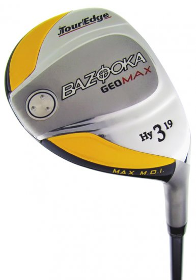 TOUR EDGE GOLF- BAZOOKA GEOMAX #2 IRON/WOOD HYBRID STF