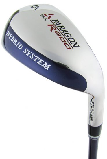 NEW PARAGON GOLF R600 27° HYBRID IRON WOOD STIFF GRAPH