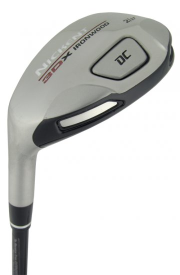 NICKENT GOLF- LH 3DX DC 23° #4 HYBRID IRON WOOD GRAPH S