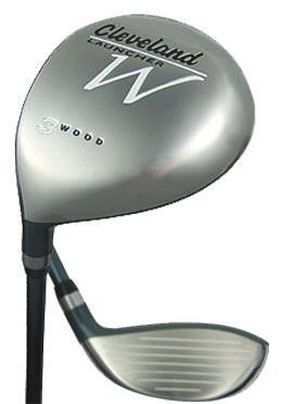 NEW CLEVELAND GOLF LADIES LH LAUNCHER W #3 FAIRWAY WOOD