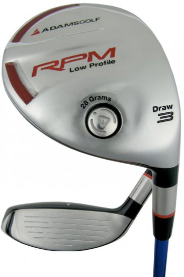NEW ADAMS GOLF RPM LOW PROFILE #3 FAIRWAY WOOD SENIOR