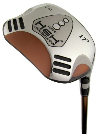 HiPPO GOLF- HEX 2 SQUARE FAIRWAY 4 WOOD REGULAR FLEX