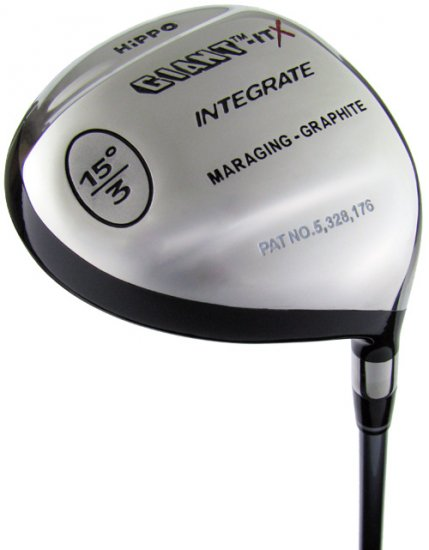 NEW HIPPO GOLF HIPPO ITX 21° #7 FAIRWAY WOOD GRPH STF
