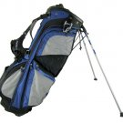 BAG BOY GOLF- NEW CLIP-LOK STAND BAG - BLACK/ROYAL/GRAY