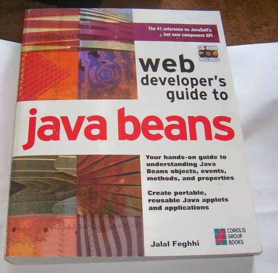 Web Developer's Guide to Java Beans: A Hands-On Guide (Paperback), 1997, CD INCLUDED