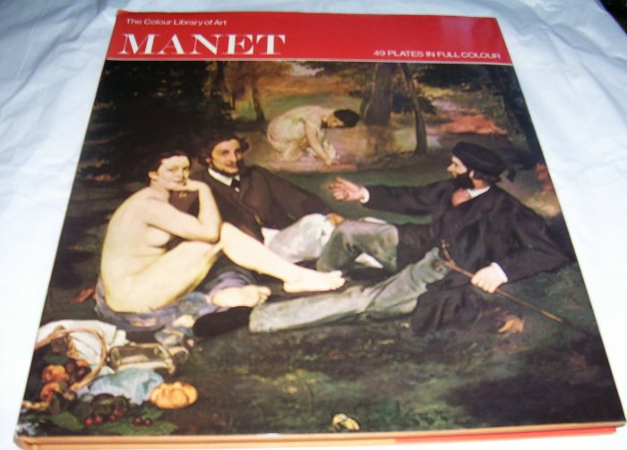 Manet, (Colour library of art),1967, VERY GOOD HCDJ