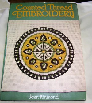 Counted Thread Embroidery, 1976 hcdj, Very Good Condition