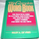 The Complete Word Book,1991 HC, The Practical Guide
