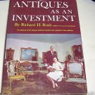 ANTIQUES AS AN INVESTMENT, 1968, ANTIQUES, COLLECTING